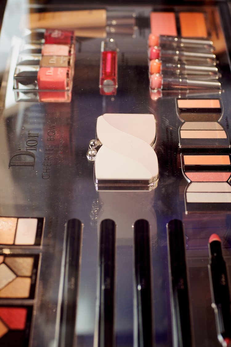 Dior Chèrie bow make up collection