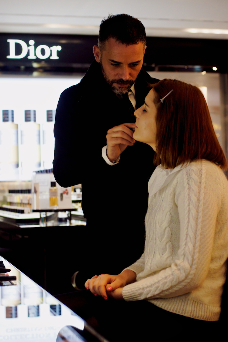 make-up Dior Rinascente Milano