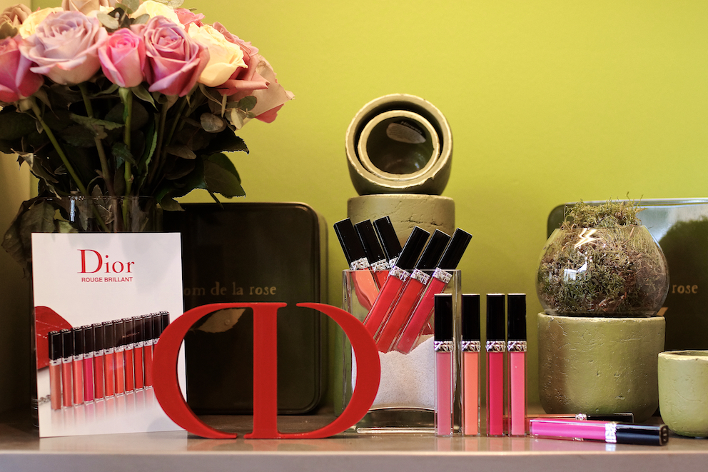 Dior rouge brilliant makeup