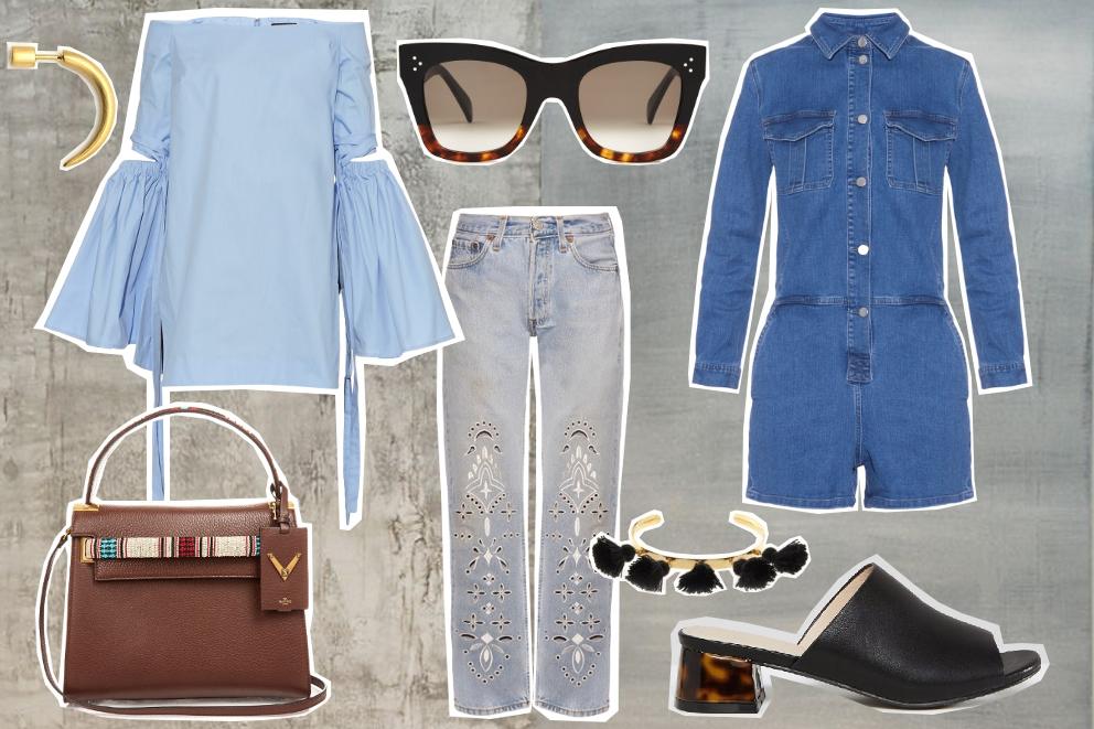 what to wear: chic denim
