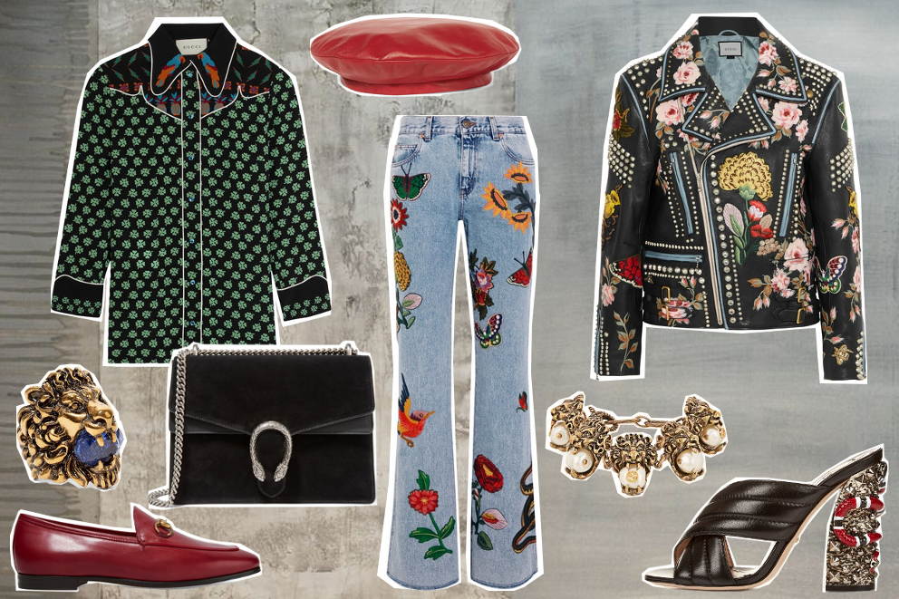 gucci total look