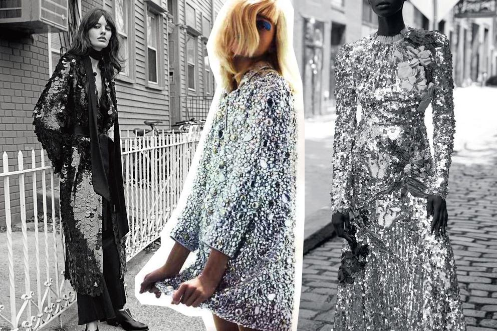 Festive Sequins outfit ideas