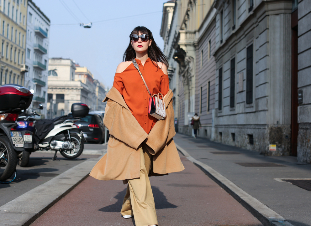 Milan Fashion Week Day 1 Irene Buffa Street Style
