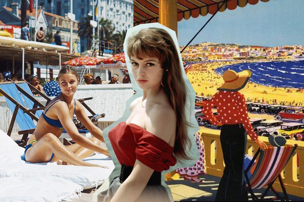 Festival De Cannes vintage inspiration photos