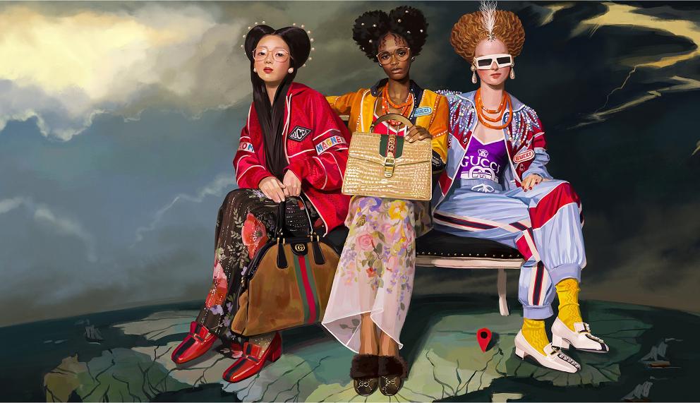 Gucci SS 2018 Campaign