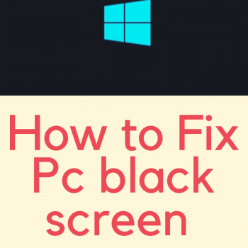 Is your PC screen black