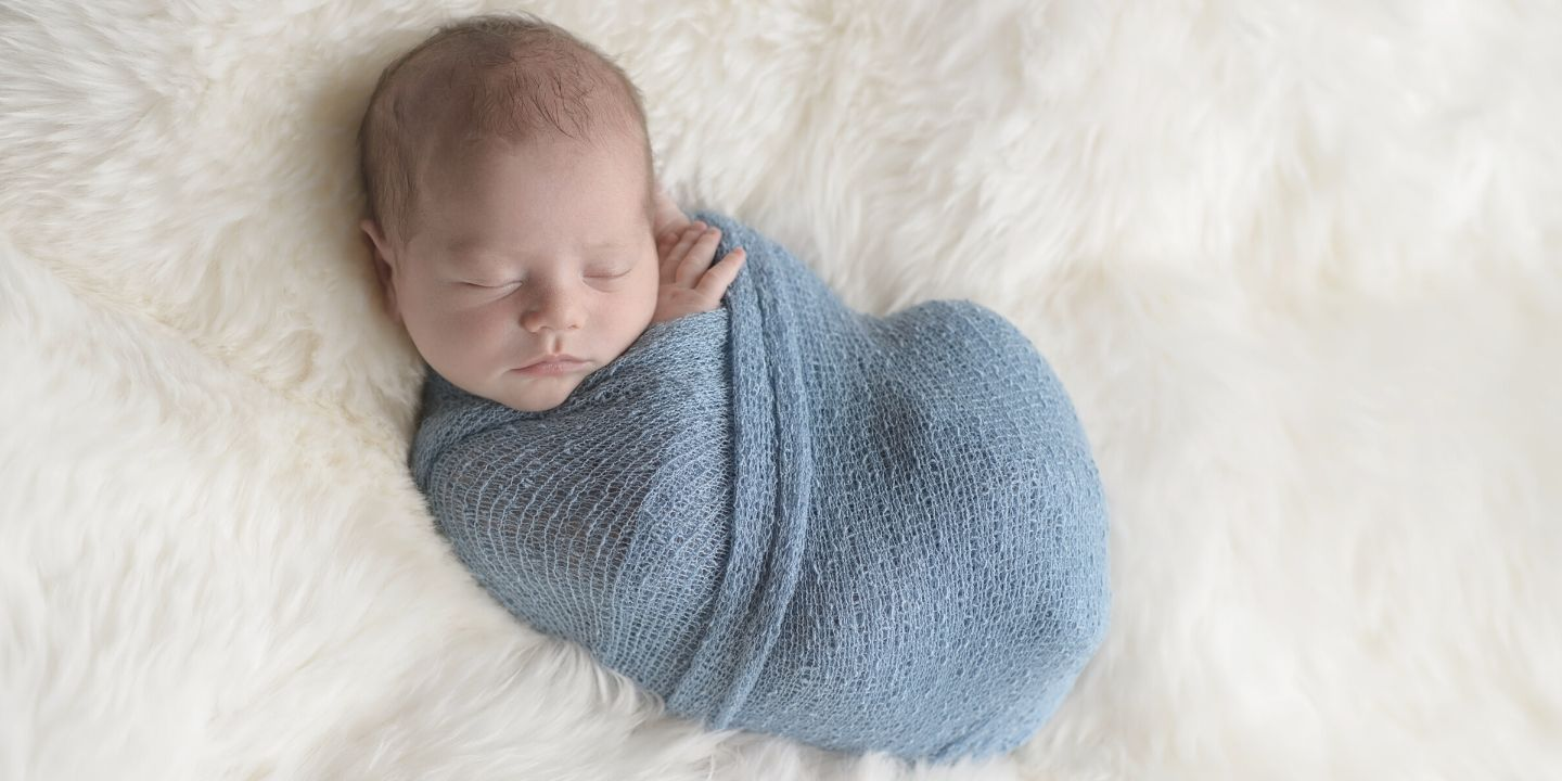 to swaddle a baby