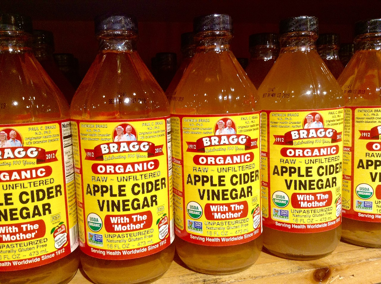 Apple cider vinegar with the mother