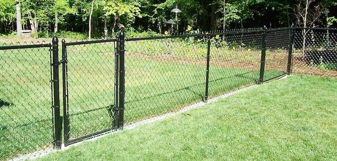 cost of a chain link fence