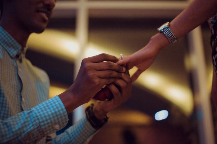 use gemstone engagement ring